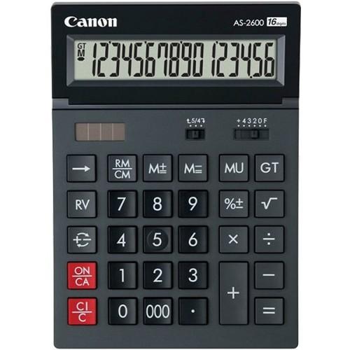 CANON Kalkulator [AS-2600] - Kalkulator Office / Pocket